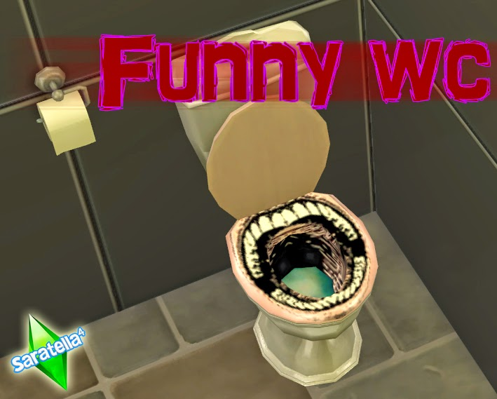 Funny WC by Saratella