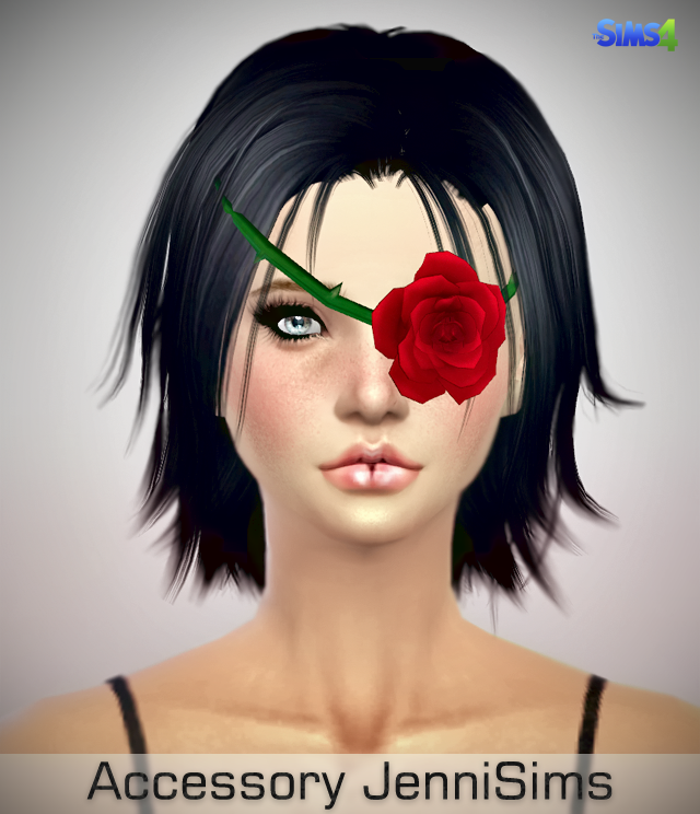 Rose Eye Patch at Jenni Sims
