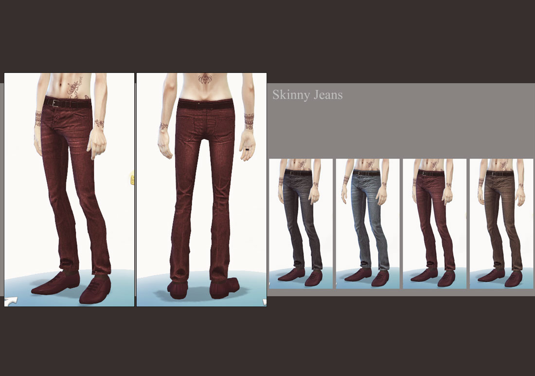 Clothing for Males by Mochi029