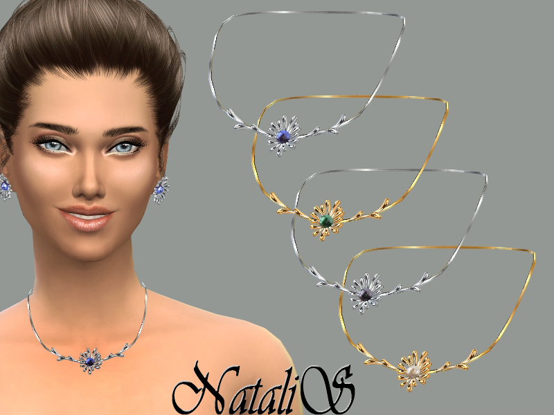 NataliS_Flower perl necklace FA-FE