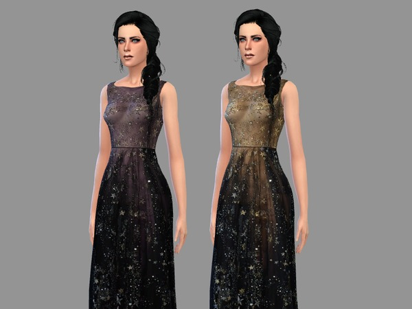 Galaxies - gown by -April-