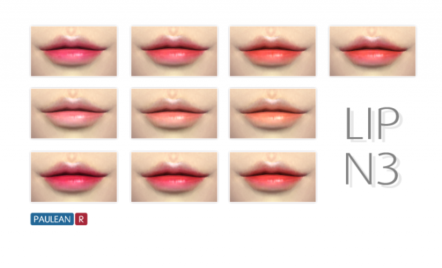 Lips N3 by Paulean R