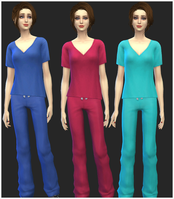 Female Scrubs Uniform at Simista