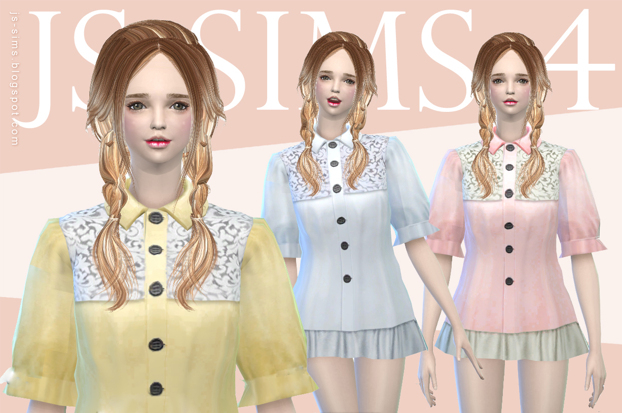 Dolly Dress Top by JS SIMS