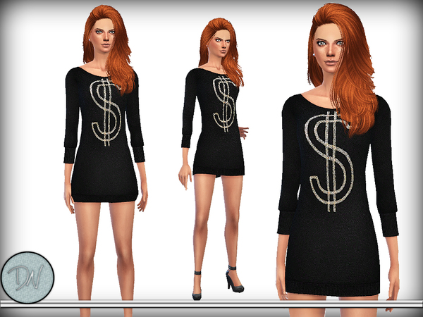Embellished Wool Dress by DarkNighTt