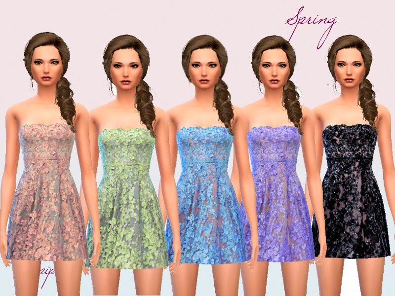 Spring Dress by Laupipi