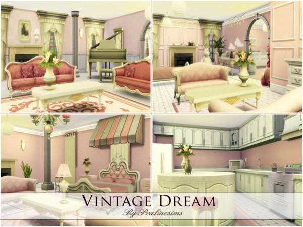 Vintage Dream by Pralinesims