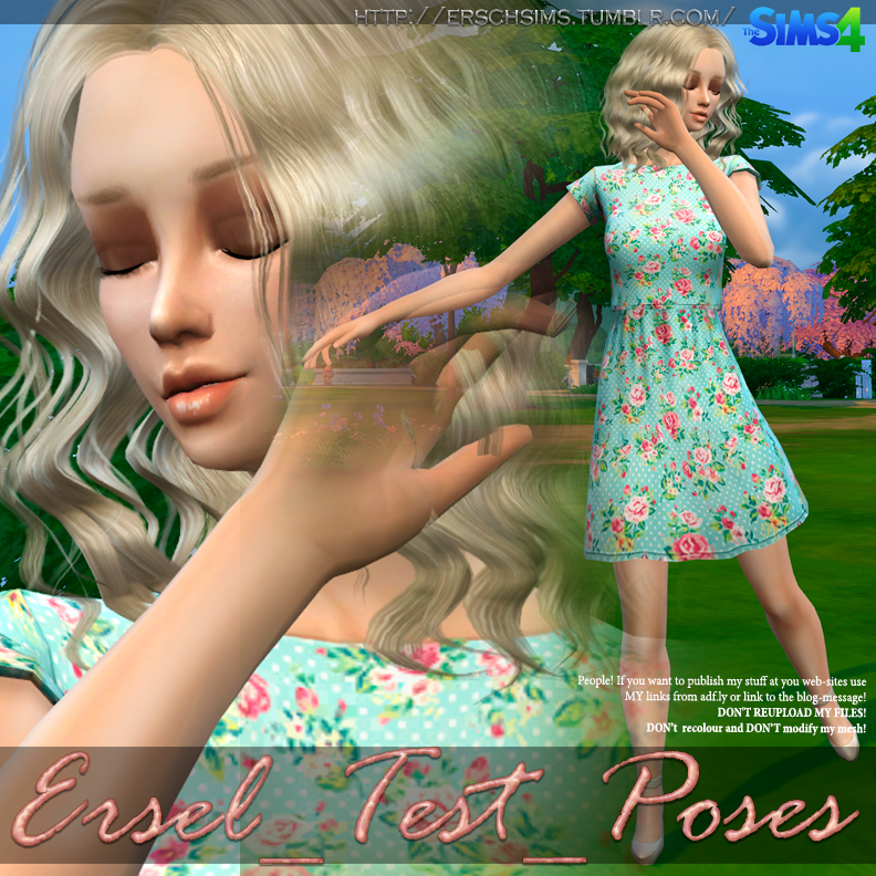 Test poses by Ersel