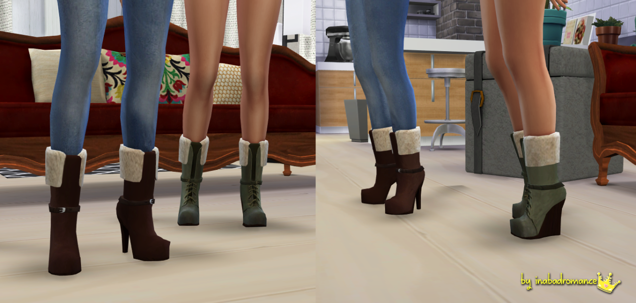 Eries Boots by Inabadromance