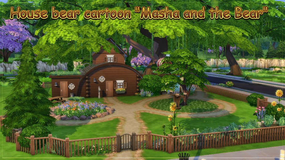 Masha and the Bear house by fatalist