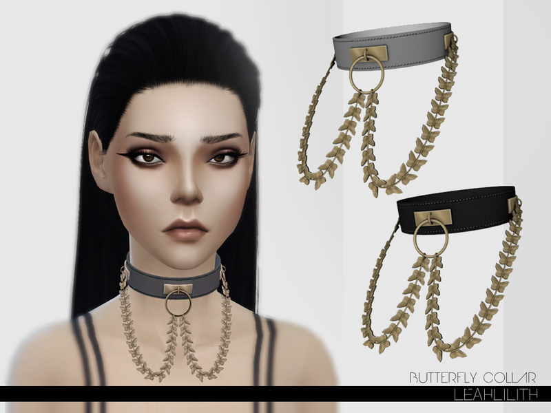 LeahLillith Butterfly Collar