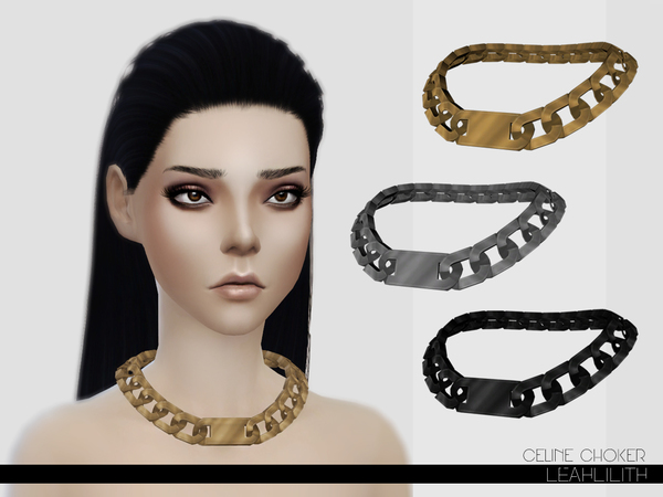 LeahLillith Celine Choker by Leah Lillith