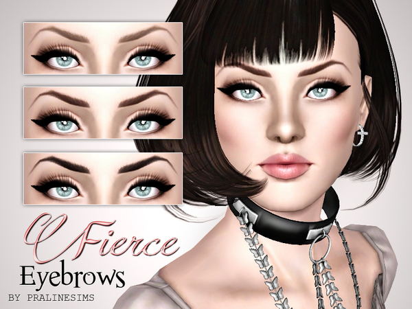 Fierce Eyebrows by Pralinesims