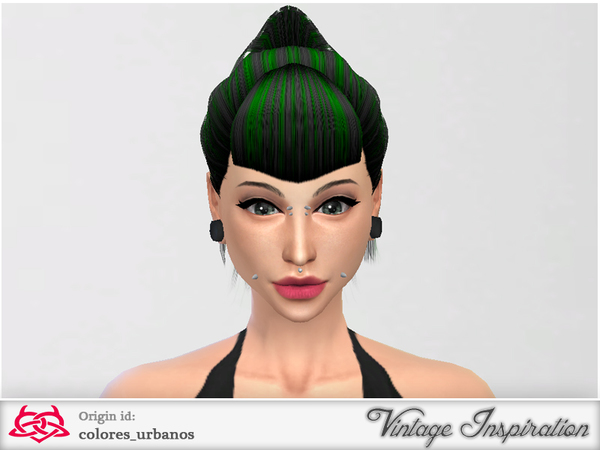 Ponytail bang by Colores Urbanos