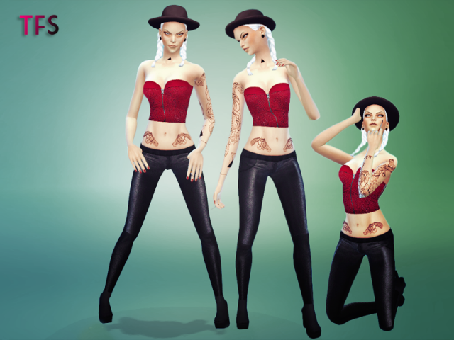 Female Poses Pack 1 by TwistedFate Sims