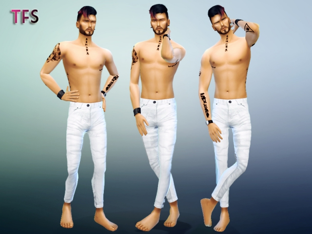 Male Poses Pack 1 by TwistedFate Sims