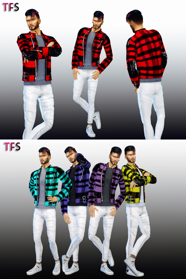 Eccentric Jacket by TwistedFate Sims