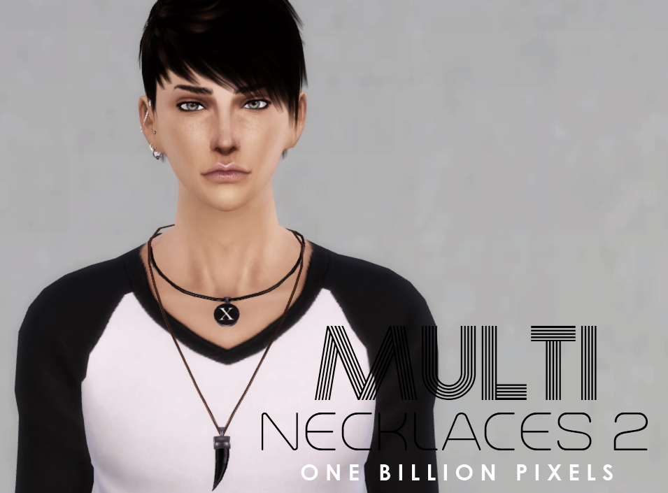 Multi Necklace 2 by NewOne