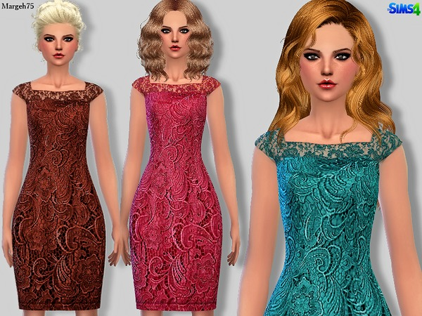 Adriana Caplace Dress by Margeh-75