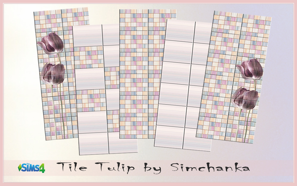 Tulips tiles by Simchanka