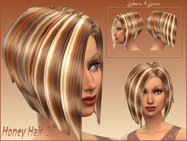 Honey Hair 2 for Females by Shara