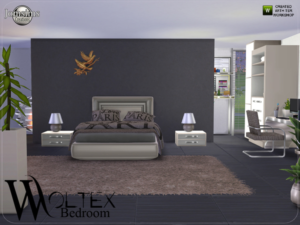 Woltex bedroom by jomsims