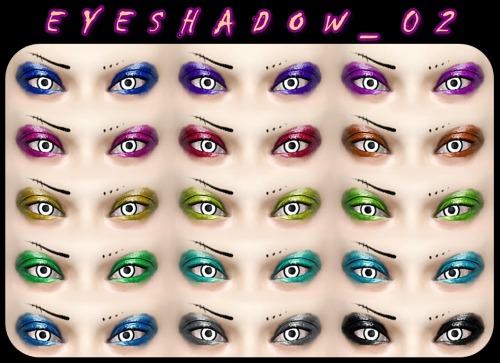 Eye Shadow by DecayClownSims