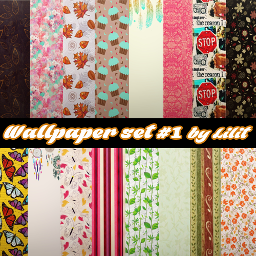 Wallpaper set #1 by Lilit