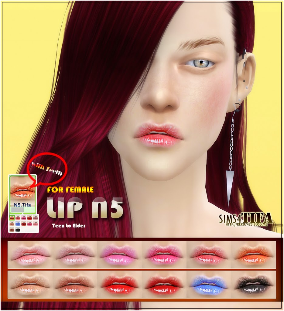 Lips for Females by Tifa