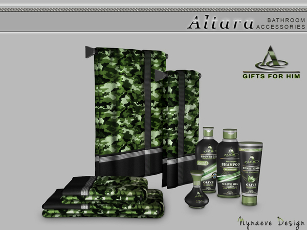 Altara Bathroom Accessories by NynaeveDesign