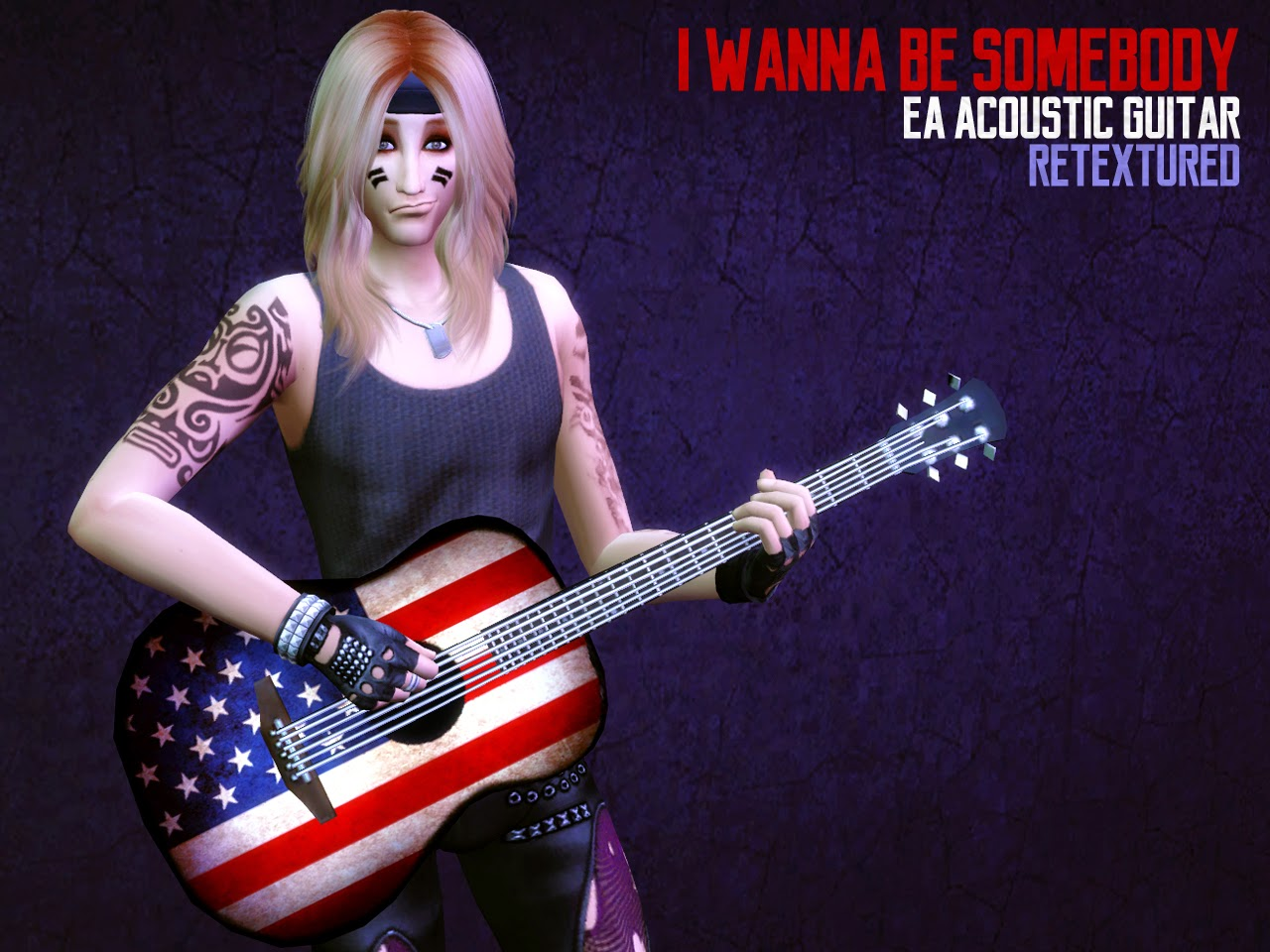 EA Acoustic Guitar Retexture by Astraea Nevermore