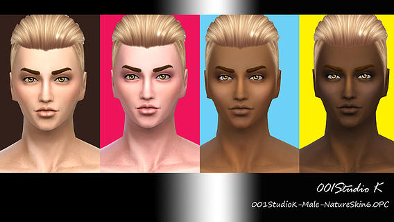 Male Skin tone nature texture at Studio K-Creation