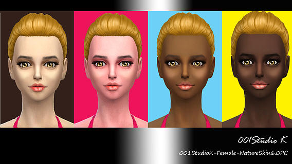 Female Skin tone nature texture at Studio K-Creation