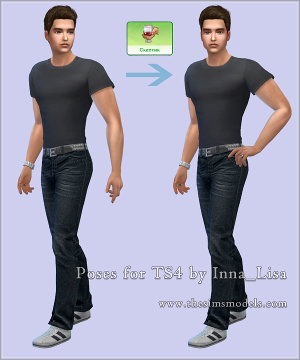 Poses for TS4 by Inna_Lisa