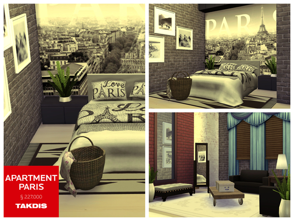 Apartment Paris by Takdis