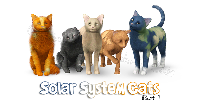 Solar System Cats Part 1 by Calista