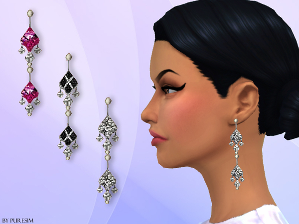 Diamond Earrings by Puresim