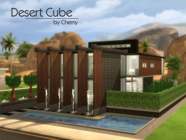 Desert Cube by chemy