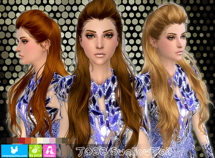 J098f hair by Newsea