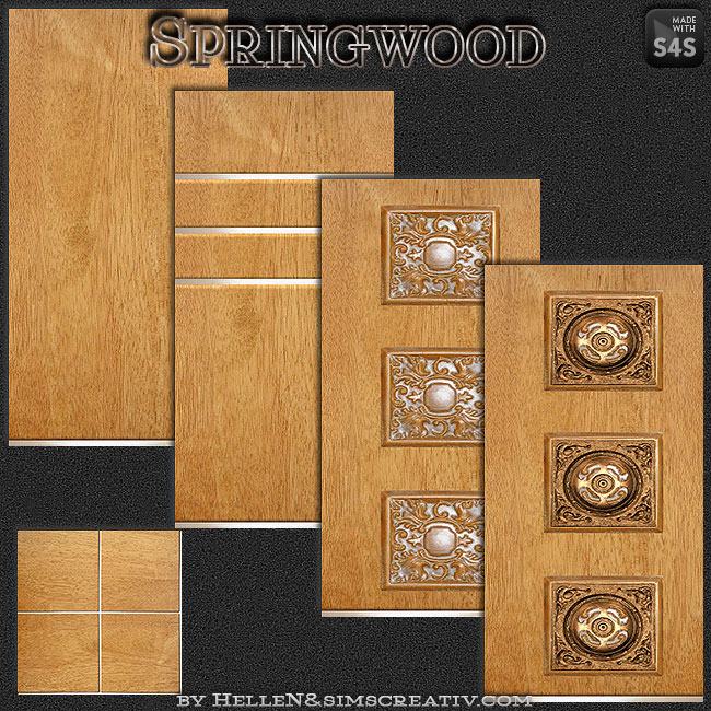 Springwood walls by HelleN