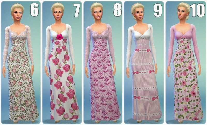 Sleeping Beauty dresses by Annett85