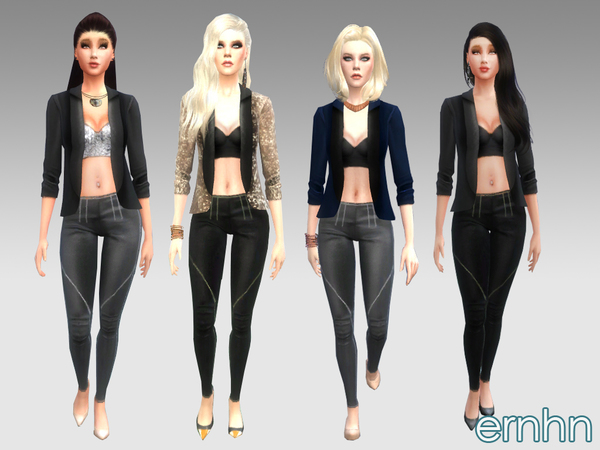Chic Chick Set by ernhn