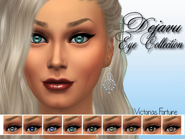 Victorias Fortune Dejavu Eye Collection by fortunecookie1
