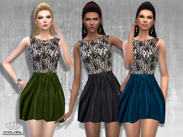 Edis Lace Dress by EsyraM