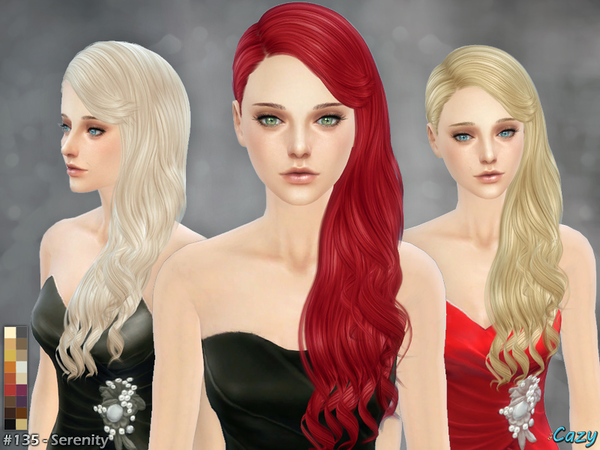 Serenity 2 - Female Hair by Cazy