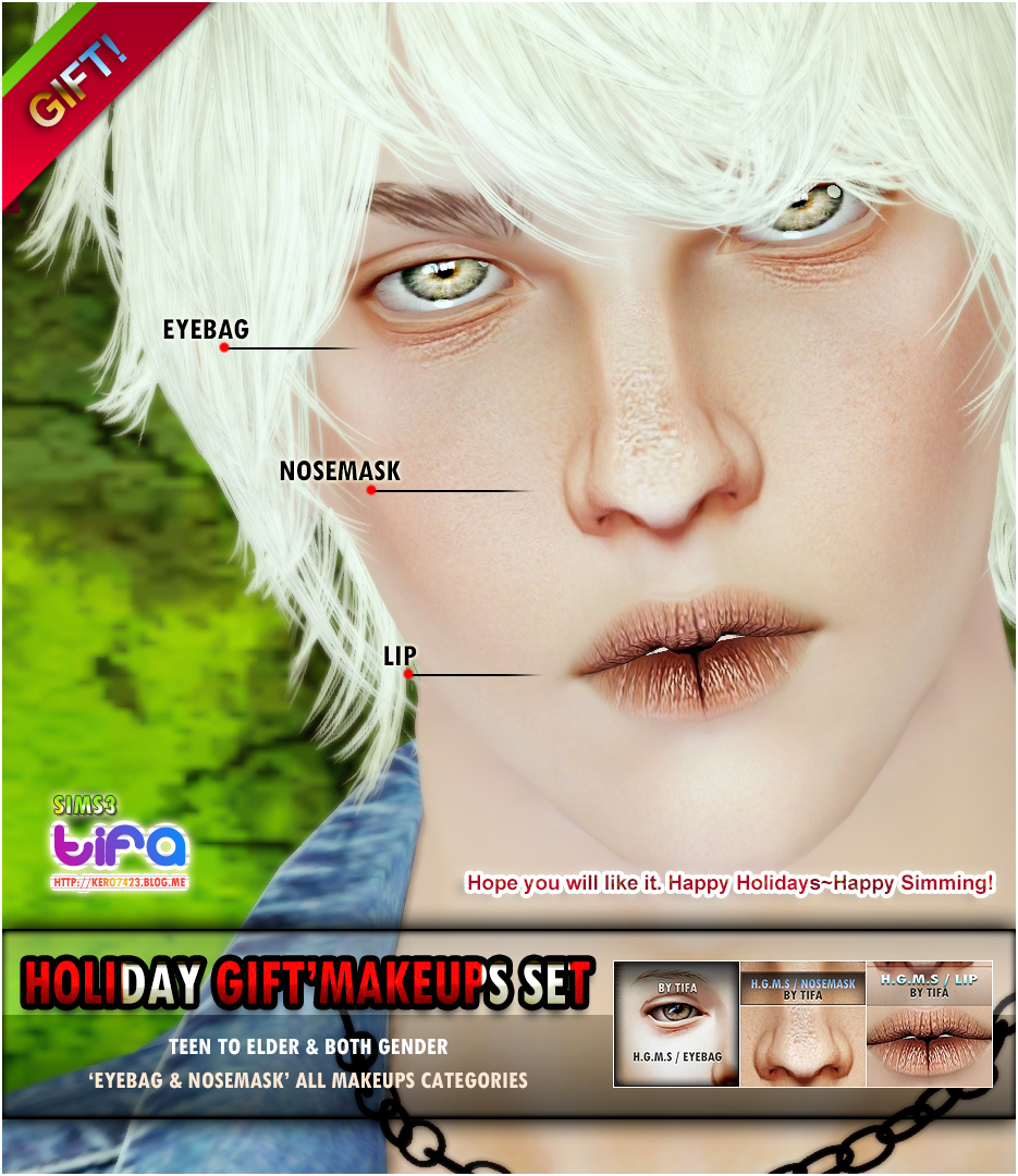 [Holiday Gift] Makeups Set by Tifa