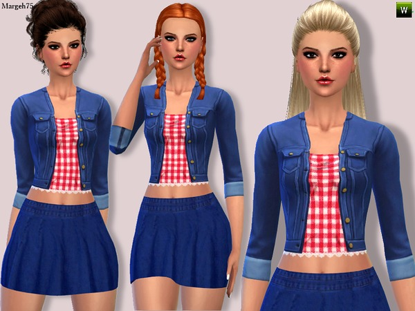 Denim Diva Outfit by Margeh-75