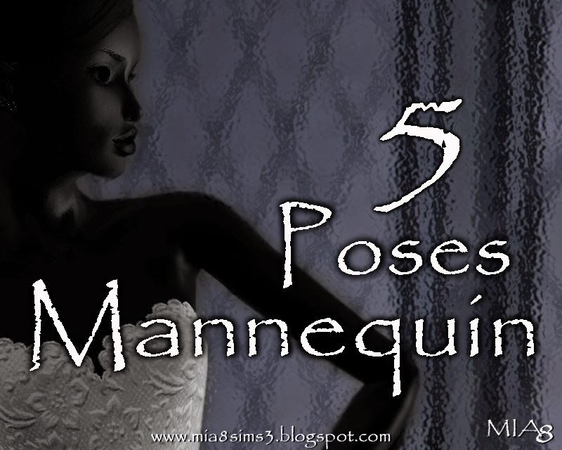 5 Poses Mannequin by Mia8