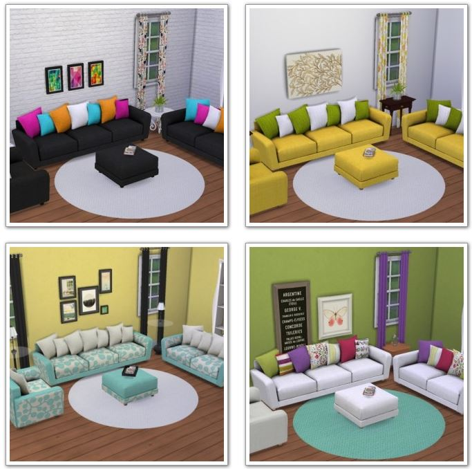 6 living recolors at Saudade Sims