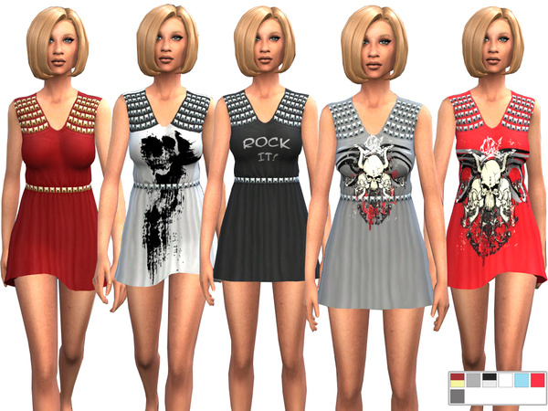 Rocker Dress by Weeky